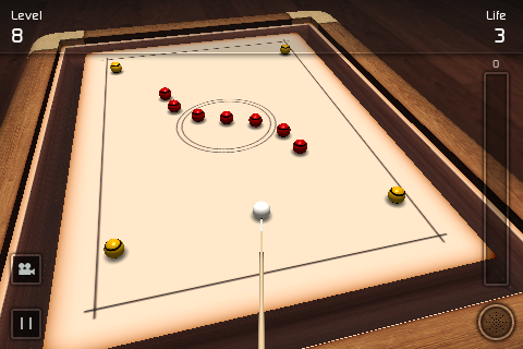 Screenshot Crazy Pool 3D Lite