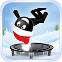 Stickman Trampoline PRO - Backflip & Frontflip Kings!