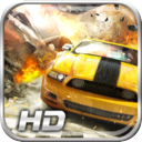 A Fearless Highway Extreme Drag Race Police Escape - Free version mobile app icon